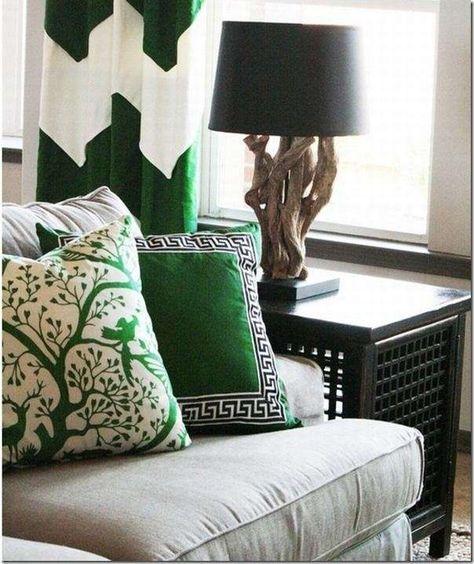 Cuscini Verdi.Pin Su Casa Nuova