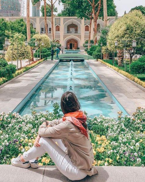 BEAUTIFUI IRAN -Abbasi Hotel , Esfahan , Iran