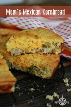Mom S Mexican Cornbread In 2020 Mexican Cornbread Mexican Cornbread Recipe Mexican Food Recipes