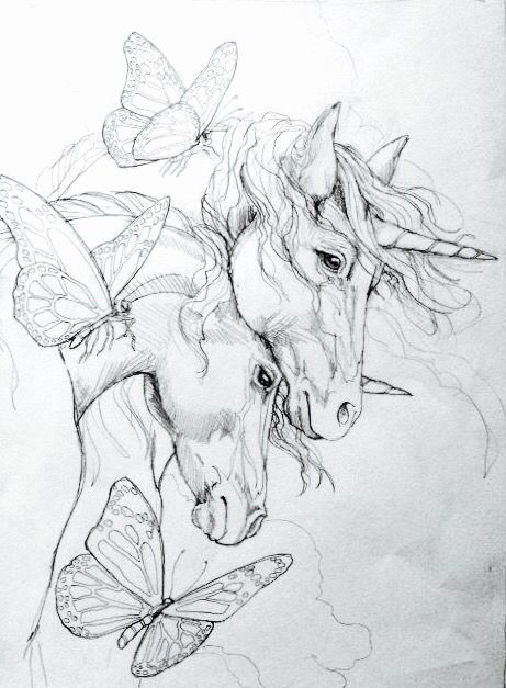 Unicorn Coloring Pages Realistic Inspirational 5429 Best Fantasy Art Unicorns Fairies Dragons Oh Unicorn Drawing Unicorn Coloring Pages Horse Coloring Pages