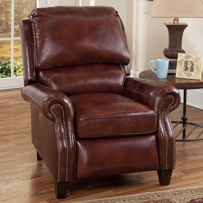 Darby Home Co Lorraine Leather Recliner | Leather recliner