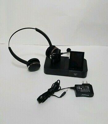 Ad Ebay Link Jabra Pro 9400bs Wireless Headset Touchscreen Base Ac Adapter Wireless Headset Phones For Sale Headset