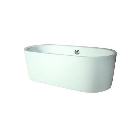 Baignoire Ilot Acrylique Oleron 170x80 Ondee Bathtub Aqua