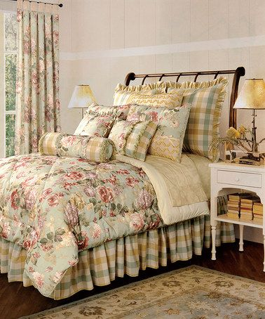 Take A Look At This Sage Green Chesapeake Comforter Set By Acg Green