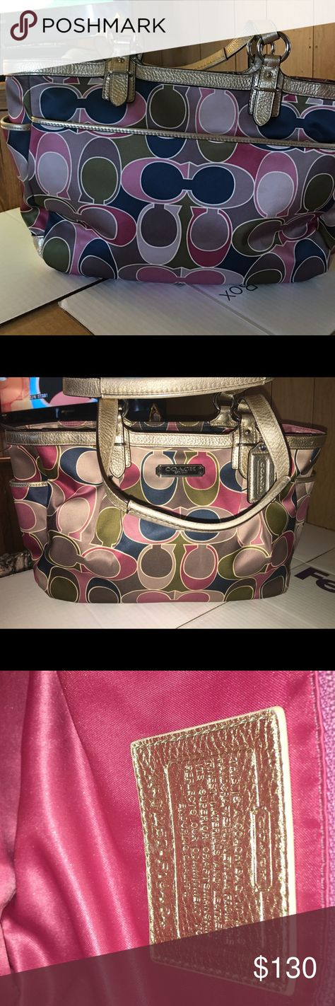 Coach (brand new condition great deal the best Perfect condition next to brand new. I've ordered lot of used like new and these are the best three I found. Great deal to get. Coach Bags Shoulder Bags