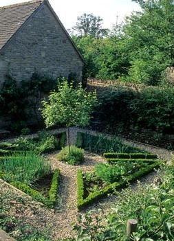Walled Herb And Vegetable Garden Parterre Hinton House Bibury Parterre Garden Herb Garden Design Small Herb Gardens
