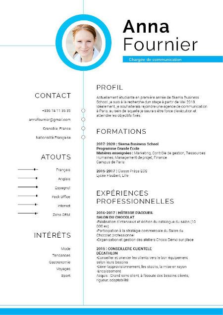 Epingle Sur Cv Designer