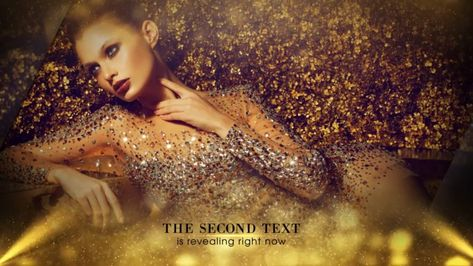 Elegant Golden Awards Show Template - After Effects Template