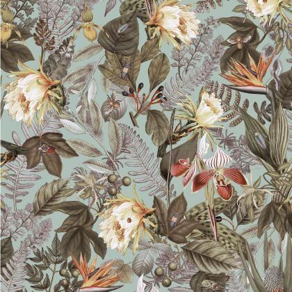 Green Palms Peel And Stick Wallpaper World Market Papierwande Kohl S