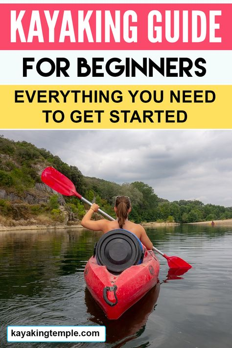 Are you planning to go kayaking for the first time? Well, you'll be giving yourself a splendid experience with nature in the aquatic environment, having fun, an Kayaking Outfit, Kayaking Tips, Whitewater Kayaking, Canoeing, Kayaking Quotes, Hobie Kayak, Kayak Paddle, Kayaks, Kayak Camping