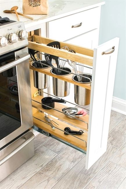 Amazing Vertical Kitchen Slide Drawer Dream House Diy Kitchen Home Interior And Landscaping Thycampuscom