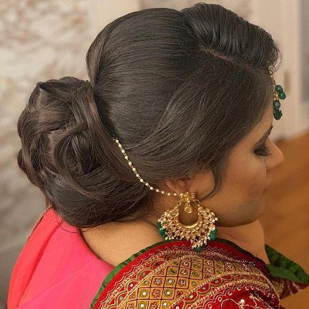 20 Simple Indian Juda Hairstyles For Wedding Parties 2019 Ihsan Blog Detayli 20 Simple Indian Indische Frisuren Frauen Frisuren Indische Hochzeitsfrisuren