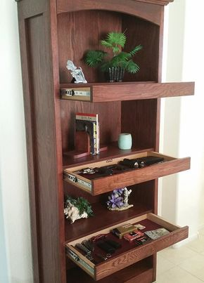 Bookshelf System Free Shipping Within The Continental U S Top Secret Furniture Concealment Furniture Secret Compartment Furniture Diy Decor Projects