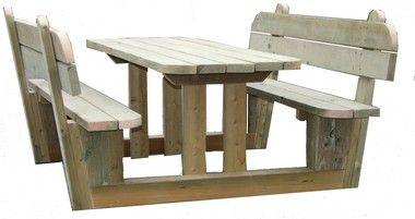 Table De Pique Nique Sologne Pour 4 A 8 Pers Amenagement Exterieur Tables Pique Nique Pyrene Table De Pique Nique Table Forestiere Amenagement Interieur