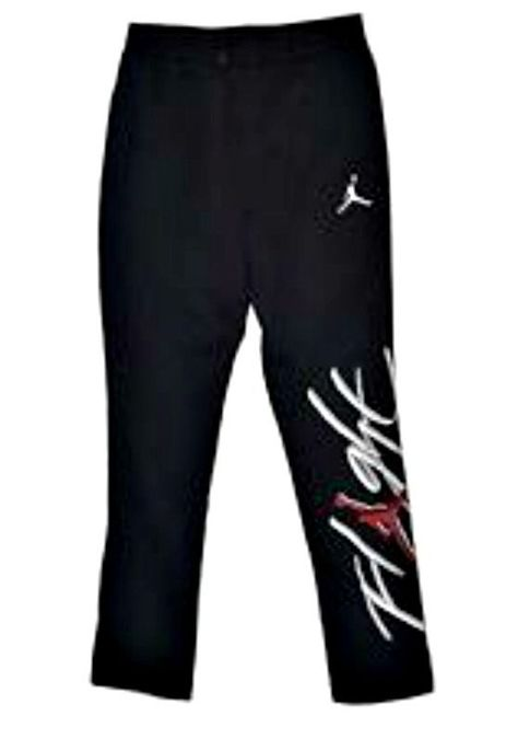 be686125fc3500 AUTHENTIC NIKE AIR JORDAN FLIGHT BRUSHED BLACK FLEECE SWEAT PANTS  845862-010  Nike  TrackSweatPants