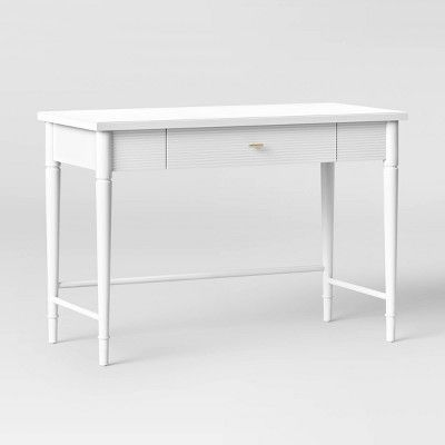 Cambridge Wood Writing Desk With Drawers White Threshold Writing Desk With Drawers Wood Writing Desk Desk With Drawers