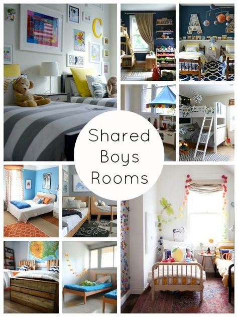 Shared Boys Rooms | Shoes Off, Please