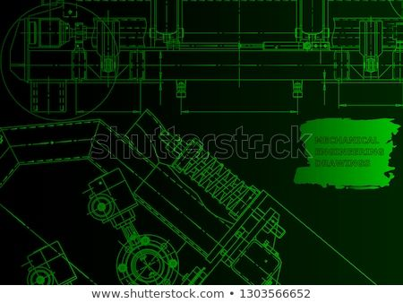 Computer Aided Design Systems Technical Illustrations Backgrounds Mechanical Engineering Green N Design System Technical Illustration Computer Aided Design