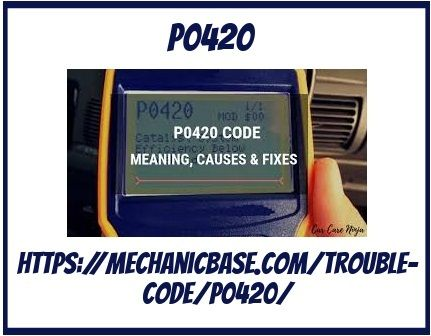 Pin by pheyntai on P0420 code in 2019 | Coding, Code meaning