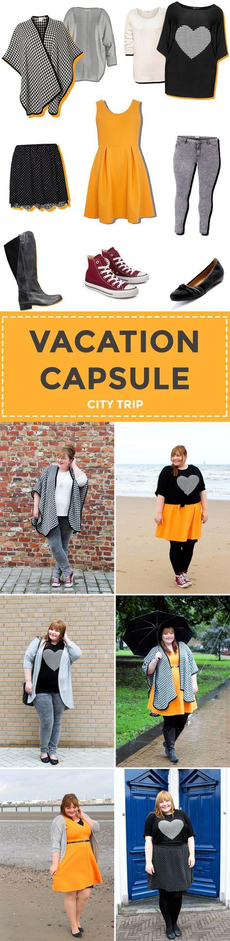 Plus Size Vacation Capsule City Trip Autumn/Fall // Packliste Städtetrip im Herbst