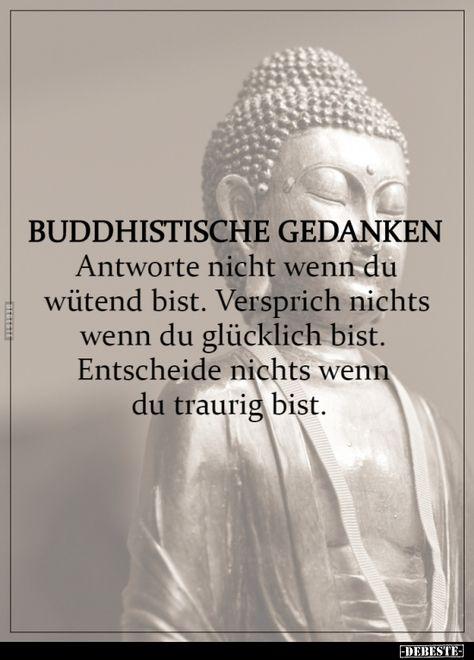 Buddhistische Gedanken..
