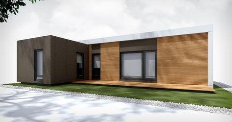 Vista Principal Plano Planta Casas Modulares De Diseno Son Las Formadas Por Medio De Cubos Que Unidos O Entre Lazados Entre House Home Modern