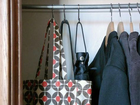 Savvy S Hooks - Repurposing Household Items for Closet Organization on HGTV