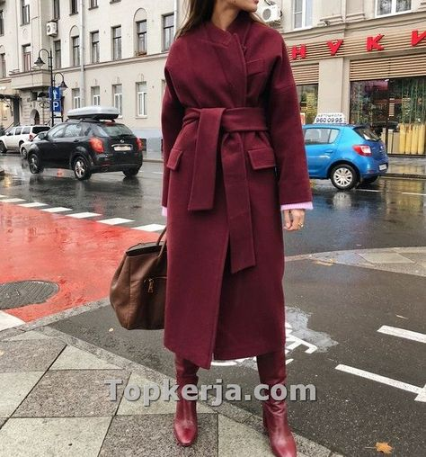 camel coat with camel sweater-Hijab fashion style in winter – Just Trendy Girls