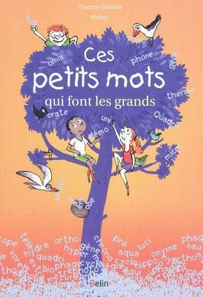 Ces Petits Mots Qui Font Les Grands Vincent Gaudin Illustrations De Robin Editions Belin 5 Habits Of Mind French Books Primary Literacy