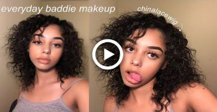 How To Look Like A Baddie Everyday Everyday Makeup Tutorials Baddie Makeup Everyday Makeup Routine