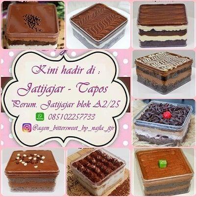 Dessert Box Yummii Dari Bittersweet By Najla Yuukk Yang Mau Order Bisa Via Go Shop Go Send Atau Grab Yang Mau Cod Bisa Langsung Ke Tk Food Desserts Agen