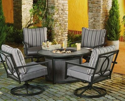 Shared From Flipp Water S Edge 5 Piece Firepit Set In The Kroger