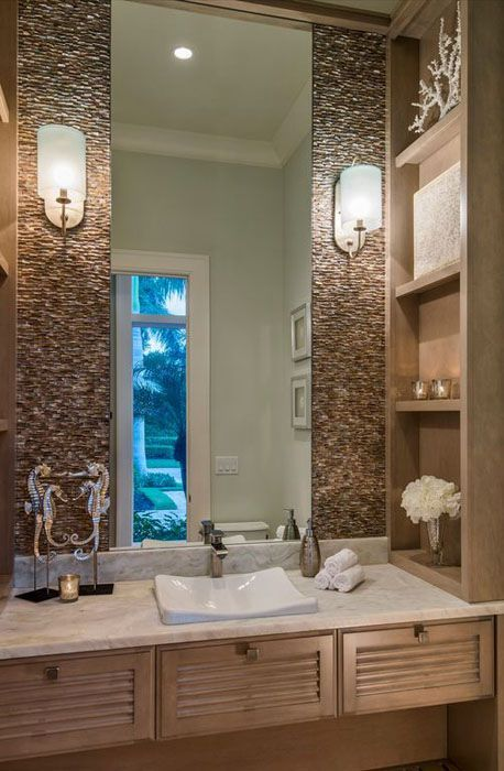 Contemporary Bathroom With Compact Design High Ceiling And Open Shelving Above With Images Small Bathroom Contemporary Master Bathroom White Bathroom Accessories
