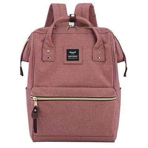 Himawari Laptop Backpack Travel Bag with USB Charging Port