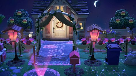 House Entrance New Animal Crossing Animal Crossing Cherry Blossom Petals