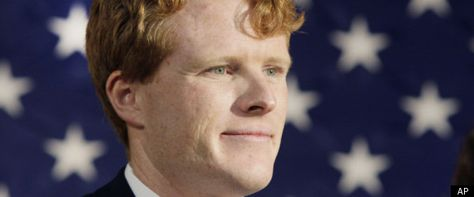 Joseph Kennedy III, grandson of the late Senator Robert Kennedy, has announced he will run for the US House seat that Rep. Barney Frank is retiring from.