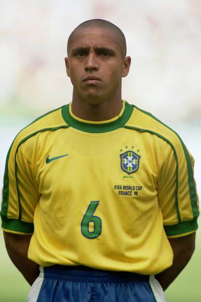 Roberto Carlos France 98 Roberto Carlos Brazil Football Team Best Football Players
