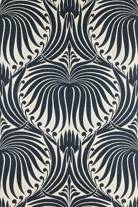 Papier peint Lotus - Farrow and Ball