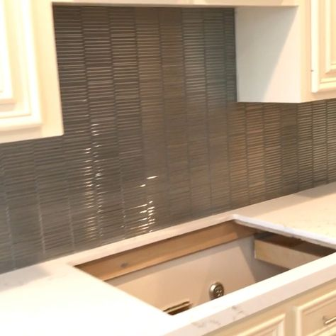 Backsplash glass tile