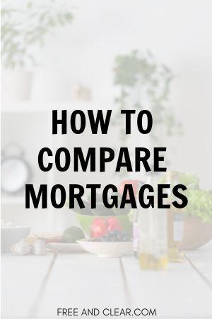 Mortgage Comparison Calculator Compare Multiple Loans Freeandclear Mortgage Comparison Mortgage Payment Calculator Refinance Mortgage