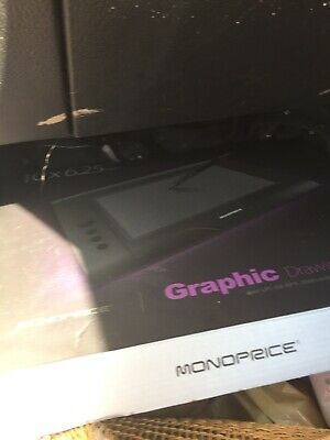 Monoprice 10 x 6.25-inch Graphic Drawing Tablet 4000 LPI, 200 RPS, 2048 Levels