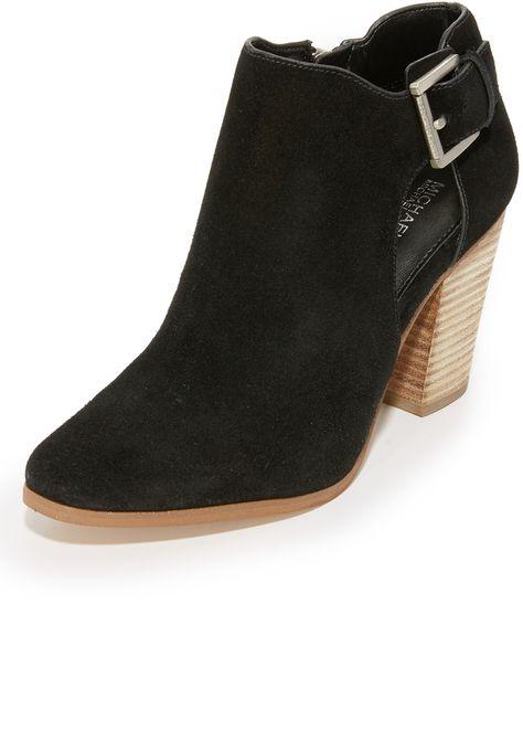 6985beb21452 MICHAEL Michael Kors Adams Booties - ShopStyle Boots