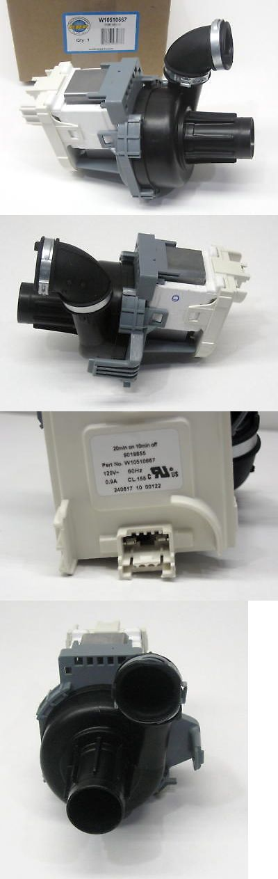 Dishwasher Pump Motor For W10510667 Whirlpool Ap6022492 Ps11755825 Dishwasher Parts Dishwasher Motor