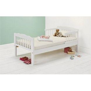 buy antique pine toddler bed frame white at argoscouk your online shop for beds beds ellau0027s room pinterest toddler bed