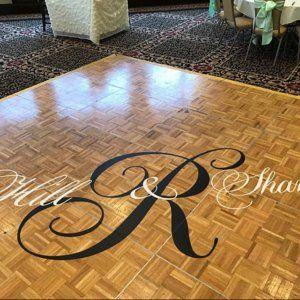 Dance Floor Decal Wedding Wedding Floor Monogram Vinyl Floor Etsy Floor Decal Vinyl Flooring Vinyl Flooring Prices
