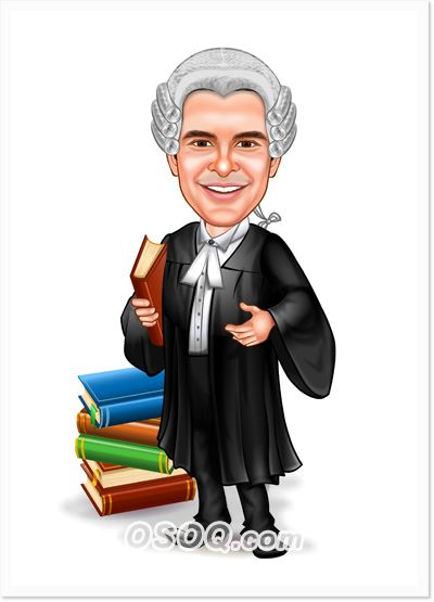 Lawyer Caricatures Caricature Work Cartoons Custom Cartoons