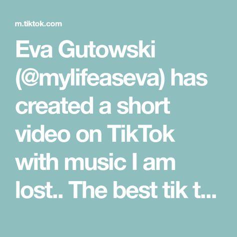 Eva Gutowski (@mylifeaseva) has created a short video on TikTok with music I am lost.. The best tik tok I've ever made #SlurpeeSummer #TikTokFanFest #LetsFaceIt #PostAMemory #WhatsUpDocChallenge #sustainablity