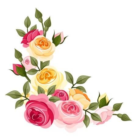 Imagen Relacionada Flores Vintage Png Rosas De época Y
