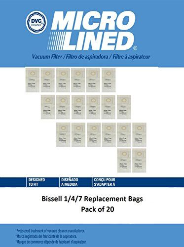 Bissell Style Micro Lined 1 7 *30861