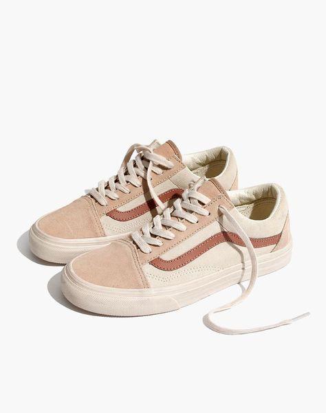 x Vans® Old Skool Unisex Lace Up Camel Color Block - Women's Sneakers Women's Shoes, Shoes 2018, Buy Shoes, Wedge Shoes, Me Too Shoes, Shoes Sneakers, Shoes Style, Nike Shoes, Yeezy Shoes